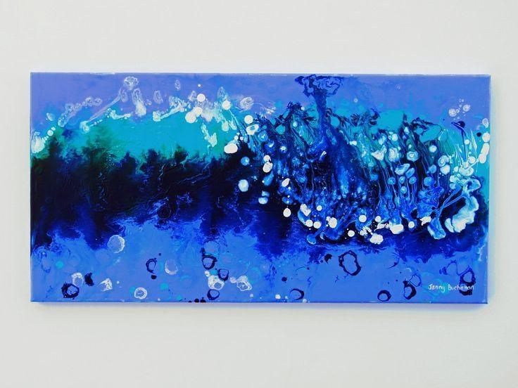 40 Best Blue Beach House Art Images On Pinterest | Blue Beach Inside Blue Abstract Wall Art (Image 2 of 20)