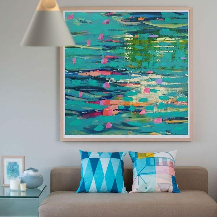 67 Best Art Prints For The Home | Printspace Images On Pinterest Within Abstract Canvas Wall Art Australia (Image 2 of 20)