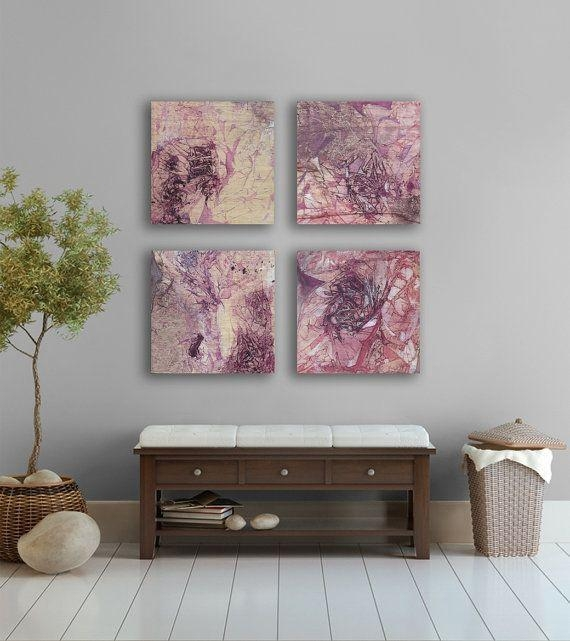 7 Best Lavender Bathroom Images On Pinterest | Bathroom, Lavender Regarding Abstract Wall Art For Bathroom (Image 2 of 20)