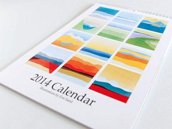 75 Best Calendars, Agendas, And Cards Images On Pinterest Pertaining To Abstract Calendar Art Wall (Photo 8 of 20)