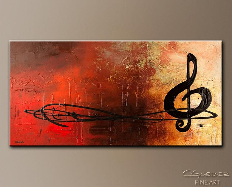 Abstract Art Site | Abstract Art Paintings Blog Inside Abstract Musical Notes Piano Jazz Wall Artwork (View 17 of 20)