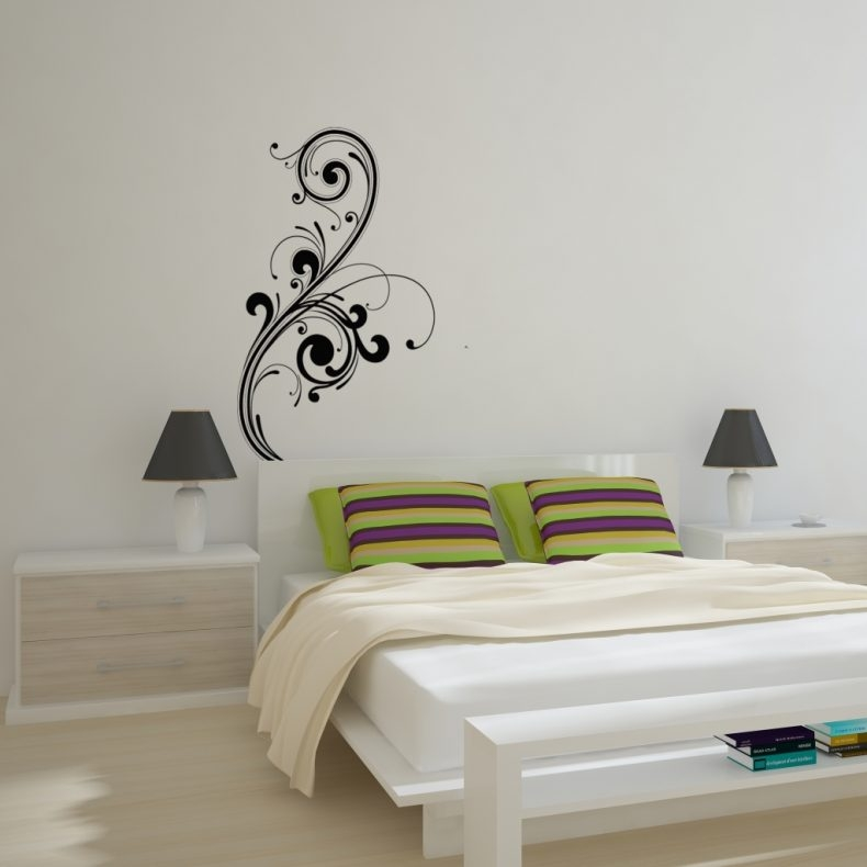 Abstract Art Wall Decal Removable Wall Stickers And Wall Wall In With Regard To Abstract Art Wall Decal (Image 2 of 20)
