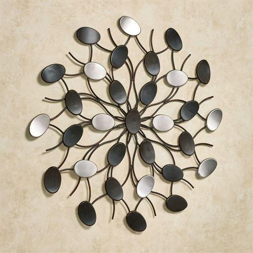 Abstract Metal Wall Art Fascinating Metal Wall Art Abstract Angkor With Abstract Angkor Swirl Metal Wall Art (Image 1 of 20)
