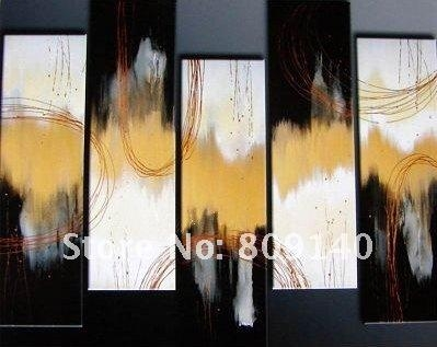 Abstract Oil Painting Canvas Hand Painted Modern Art Decoration Throughout Abstract Wall Art For Office (View 18 of 20)