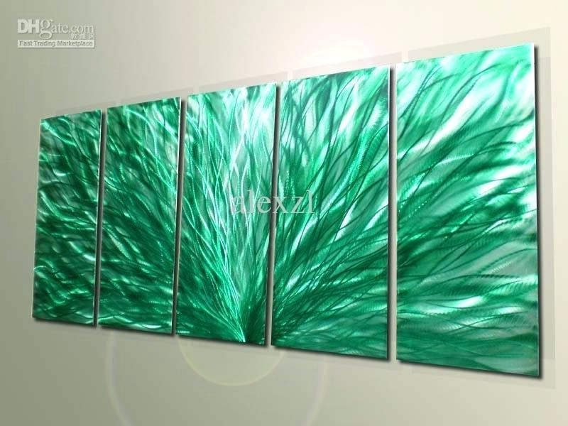 Abstract Wall Art Aluminum Dimension 2 Each Abstract Wall Art Within Aluminum Abstract Wall Art (Image 11 of 20)