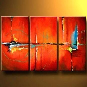 Abstract Wall Art Canvas Tango Modern Canvas Art Wall Decor For Australian Abstract Wall Art (Image 6 of 20)