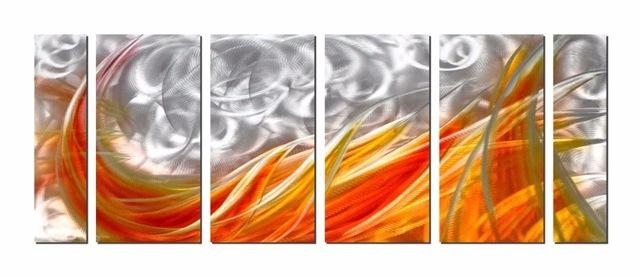 Aliexpress : Buy Original Modern Aluminum Wall Art Abstract With Abstract Aluminium Wall Art (View 19 of 20)