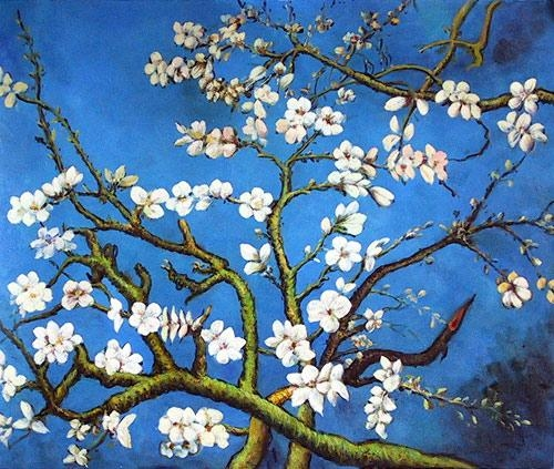 Almond Blossom – Flower Meaning Is Hope | Tattoo Inspirations Intended For Almond Blossoms Vincent Van Gogh Wall Art (Image 2 of 20)
