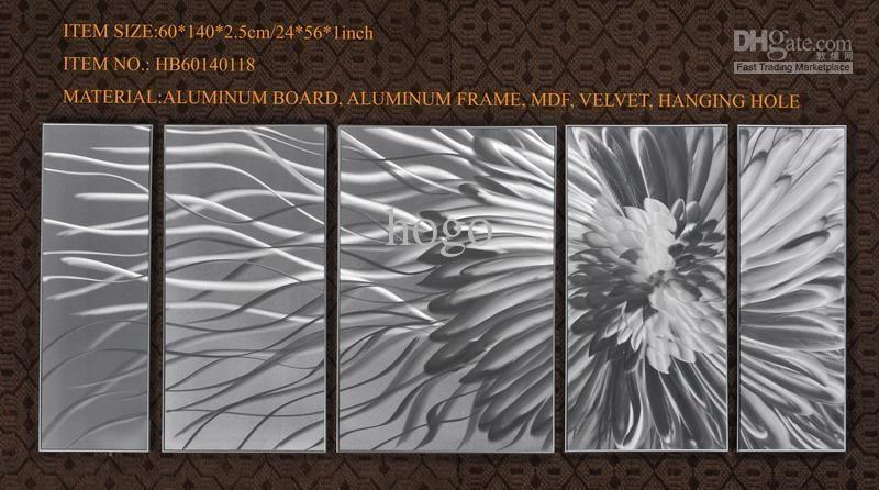 Aluminum Wall Art Gallery | Wall Art Decorations With Abstract Aluminium Wall Art (View 4 of 20)