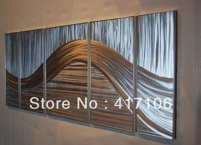 Aluminum Wall Art Gallery | Wall Art Decorations With Aluminum Abstract Wall Art (Image 15 of 20)