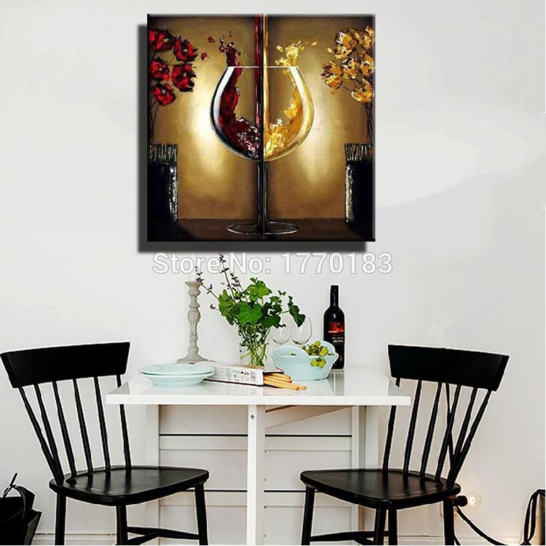 Appealing Dining Room Canvas Art With Red Dining Room Wall Art For Abstract Wall Art For Dining Room (Image 5 of 20)