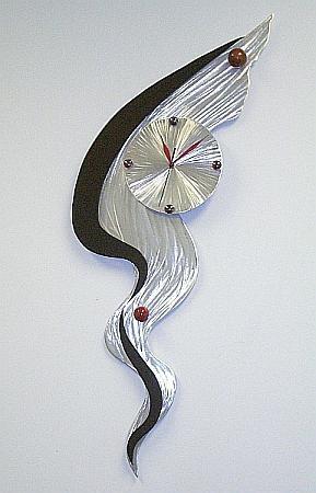 Art Clocks Wall Abstract Clock Designs Tony Functional Art Clocks Inside Abstract Clock Wall Art (Image 5 of 20)