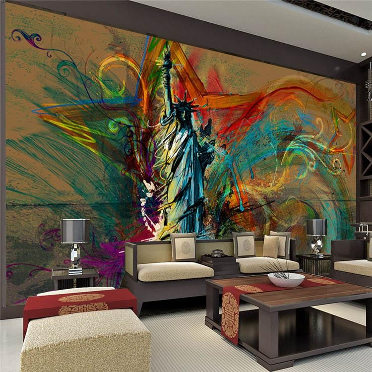Art Murals For Walls – [Peenmedia] Regarding Abstract Wall Art For Bedroom (View 18 of 20)