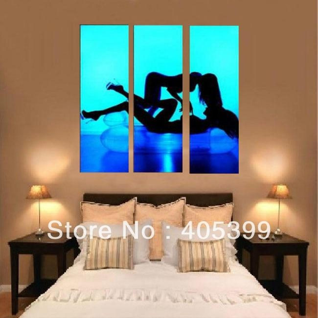 Bedroom Abstract Art – Home Design Ideas And Pictures Intended For Abstract Wall Art For Bedroom (Image 8 of 20)
