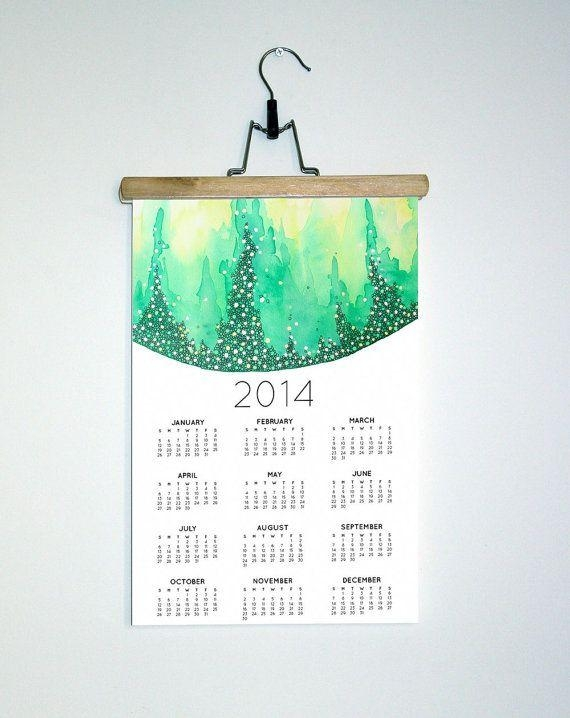 Featured Image of Abstract Calendar Art Wall