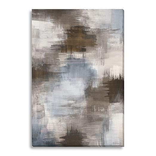 Canvas Print – Abstract Smudges | West Elm Throughout West Elm Abstract Wall Art (Image 6 of 20)