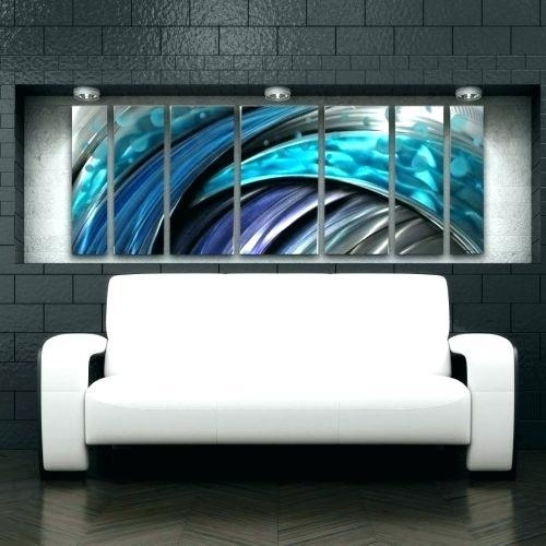 Canvas Wall Clocks Medium Size Of Large Metal Wall Art Clocks With Abstract Metal Wall Art Australia (Image 5 of 20)