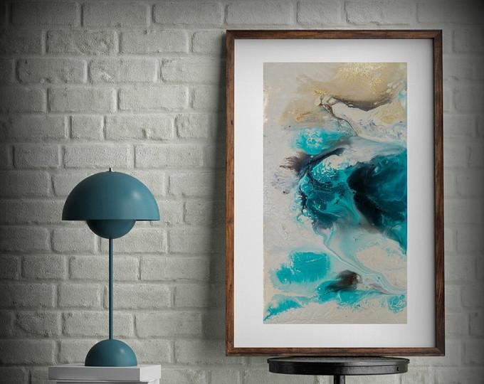 Coastal Prints – L Dawning Scott Fine Art With Regard To Abstract Wall Art For Bathroom (Image 8 of 20)