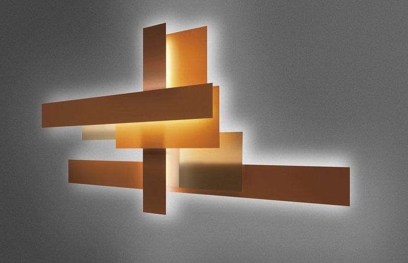 Contemporary Wall Art – Abstract, Metal And Glass | Founterior With Regard To Contemporary Abstract Wall Art (Image 7 of 20)