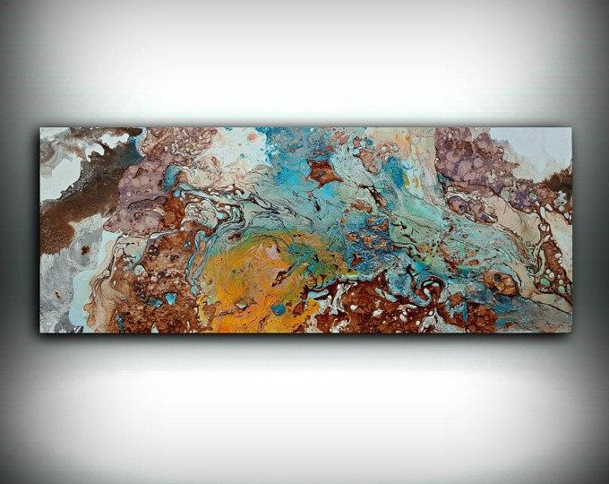 Copper Paintings – L Dawning Scott Fine Art With Abstract Copper Wall Art (Image 7 of 20)