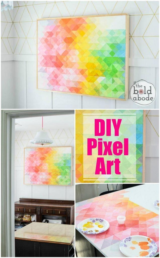 Craftionary With Diy Abstract Wall Art (View 3 of 20)