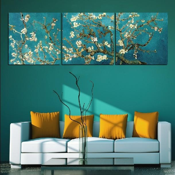 Custom Classic Almond Blossomvincent Van Gogh Oil Painting Throughout Vincent Van Gogh Wall Art (Image 6 of 20)