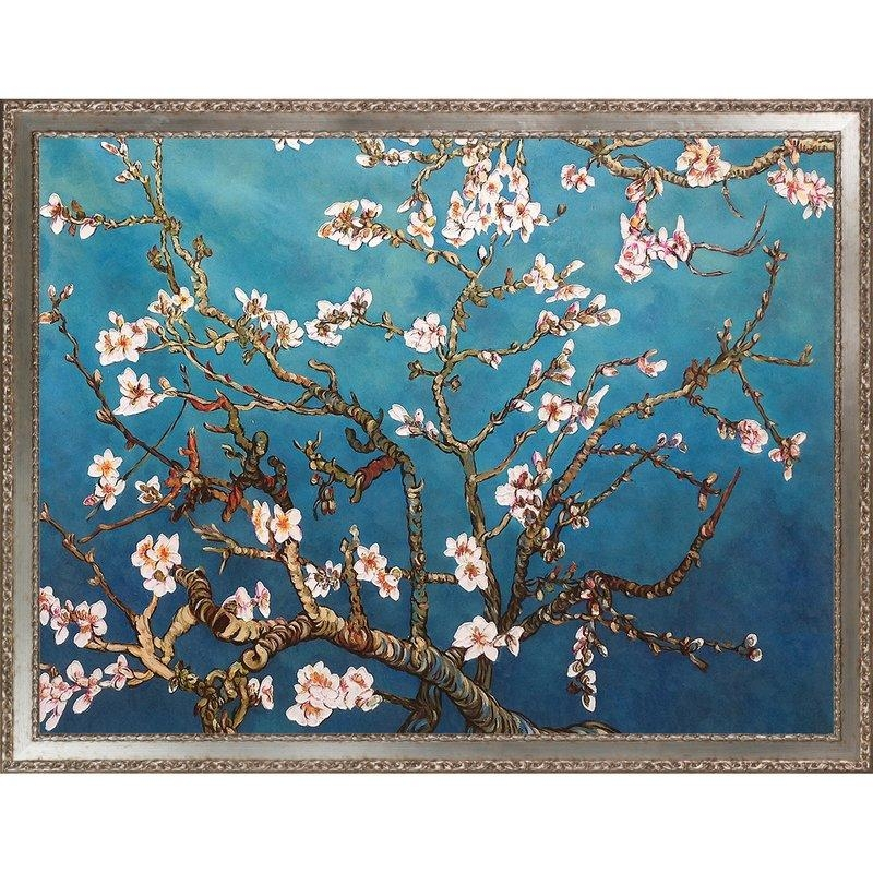 Darby Home Co 'branches Of An Almond Tree In Blossom'vincent Throughout Almond Blossoms Vincent Van Gogh Wall Art (Image 9 of 20)