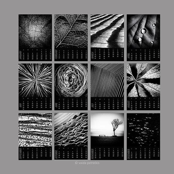 Desk Calendar 2018 Abstract Nature Calendar Mini 5X7 Calendar With Abstract Calendar Art Wall (Image 16 of 20)