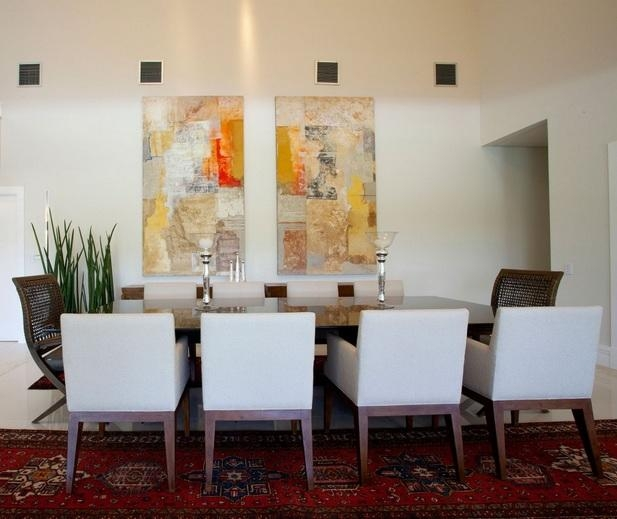 Dining Room Wall Decor With Abstract Wall Art Painting | Decolover For Abstract Wall Art For Dining Room (Image 7 of 20)