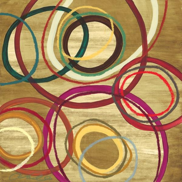 District17: Abstract Circles Ii Canvas Wall Art: Canvas Wall Art With Abstract Circles Wall Art (Image 11 of 20)