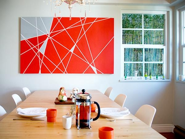 Diy Abstract Canvas | Honeysuckle Life Intended For Diy Modern Abstract Wall Art (Image 7 of 20)