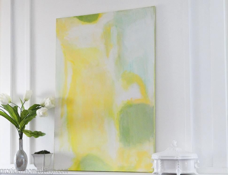 Diy Abstract Painting Inside Diy Abstract Canvas Wall Art (Image 9 of 20)