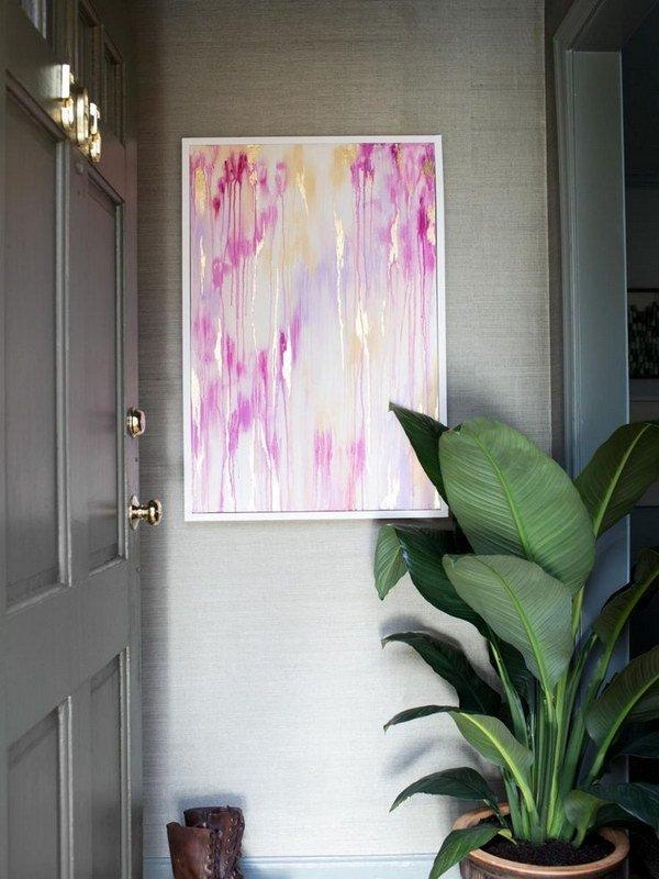 Diy Beautiful Abstract Wall Art | Diy Wall Art | Pinterest Intended For Diy Abstract Wall Art (Image 10 of 20)