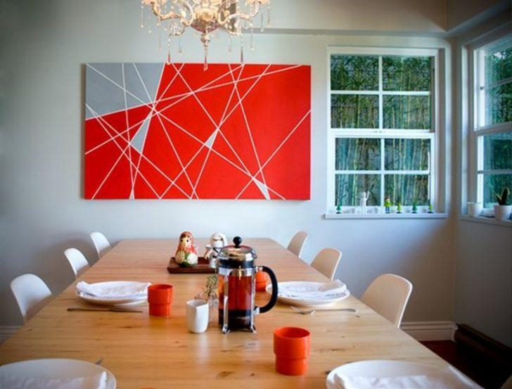 Diy Projects: Abstract Diy Wall Art – 50 Beautiful Diy Wall Art Inside Diy Abstract Wall Art (View 10 of 20)