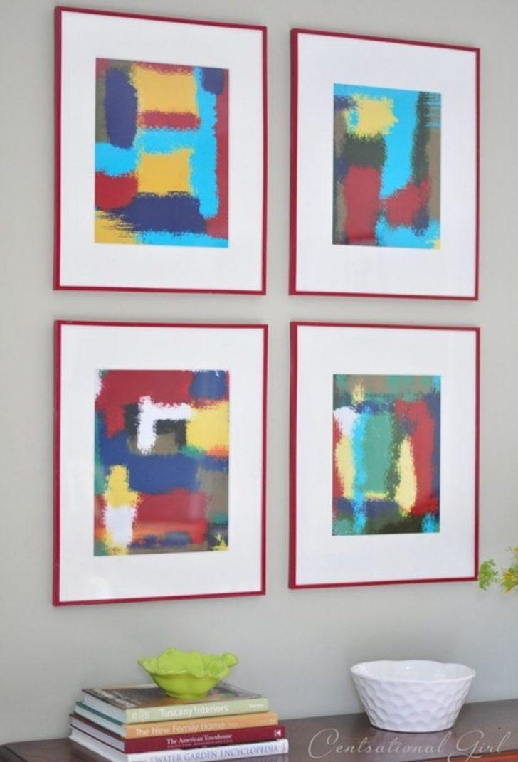 Diy Projects: Abstract Wall Art Frames – 50 Beautiful Diy Wall Art For Diy Modern Abstract Wall Art (Image 10 of 20)