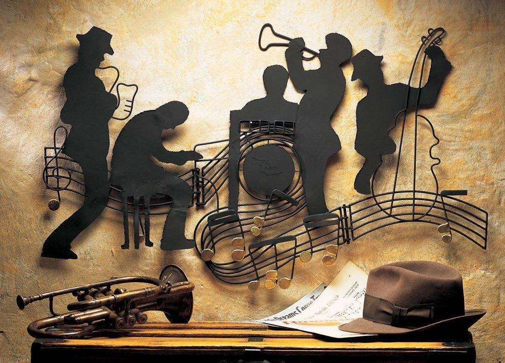 Download Jazz Wall Art | Himalayantrexplorers Pertaining To Abstract Musical Notes Piano Jazz Wall Artwork (View 20 of 20)
