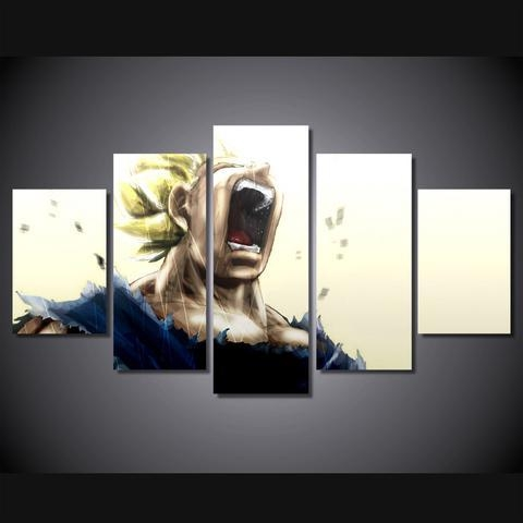 Dragon Ball Z – Super Saiyan 5 Piece Canvas Limited Edition – The Regarding Limited Edition Canvas Wall Art (View 4 of 20)