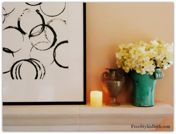 Easy And Cheap Abstract Art | Decor Hacks Regarding Diy Abstract Wall Art (Image 13 of 20)