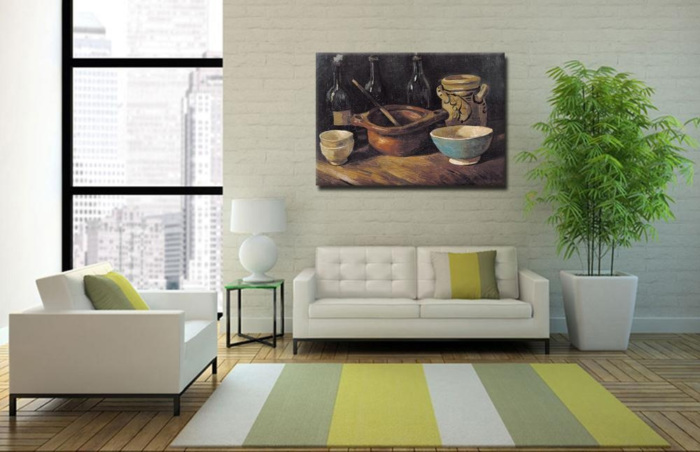 Famous Artwork Paintings Vincent Van Gogh Painting Hand Made Within Vincent Van Gogh Wall Art (Image 7 of 20)