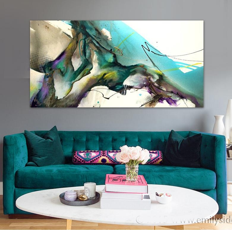Find More Painting & Calligraphy Information About Modern Abstract Pertaining To Abstract Wall Art For Office (View 16 of 20)