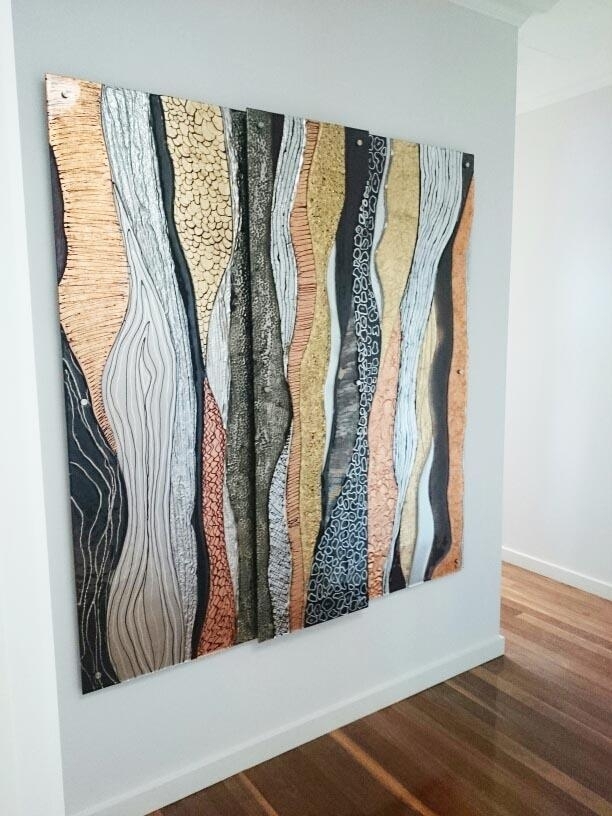 Glass Art Gallery Gold Coast, Australia | Glass Xpressions Regarding Abstract Wall Art Australia (Image 13 of 20)
