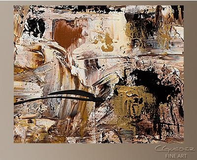 Hand Made Wall Art Touch Of Gold – Large Abstract Painting – Gold In Black And Gold Abstract Wall Art (Image 12 of 20)