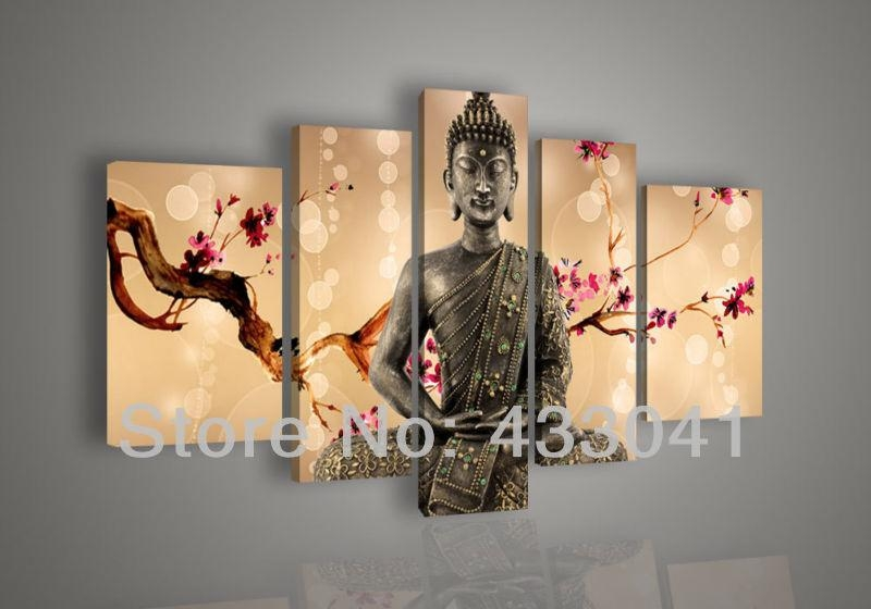 Featured Image of Abstract Buddha Wall Art