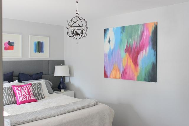 Home Coming: Diy Abstract Canvas Art With Diy Abstract Canvas Wall Art (View 8 of 20)