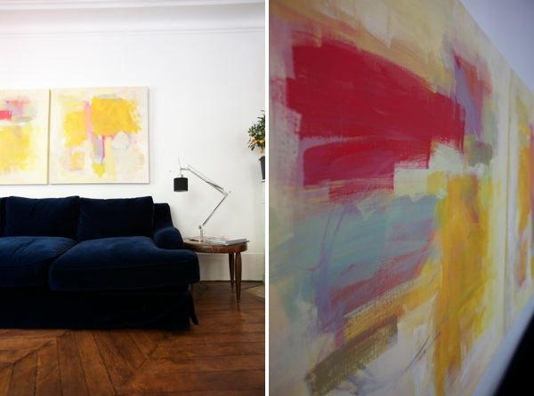 How To Make Abstract Art Diy In Diy Modern Abstract Wall Art (View 2 of 20)