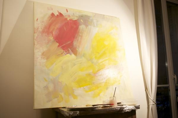 How To Make Abstract Art Diy Regarding Diy Modern Abstract Wall Art (View 9 of 20)
