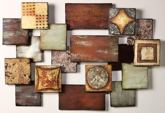 Impressive 15 Modern And Contemporary Abstract Metal Wall Art With Contemporary Abstract Wall Art (Image 9 of 20)
