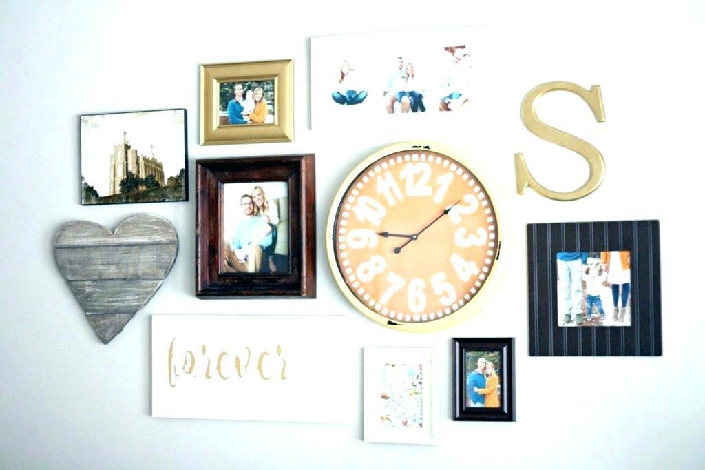 Inexpensive Wall Clocks Thumbnails Of Clock Wall Art Metal Wall Throughout Abstract Clock Wall Art (Image 12 of 20)