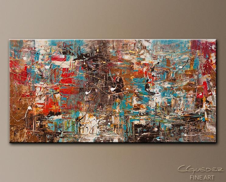 Large Abstract Art For Sale Online Can't Stop – Modern Abstract Regarding Extra Large Canvas Abstract Wall Art (Image 10 of 20)