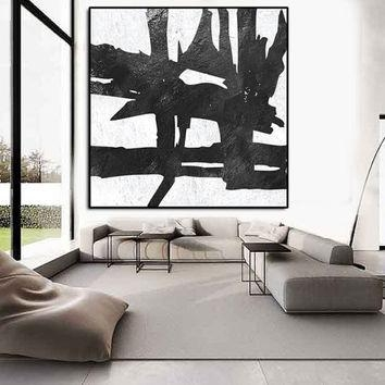 Large Abstract Painting, Abstract From Artcanvasshop On Etsy Throughout Extra Large Abstract Wall Art (Image 14 of 20)